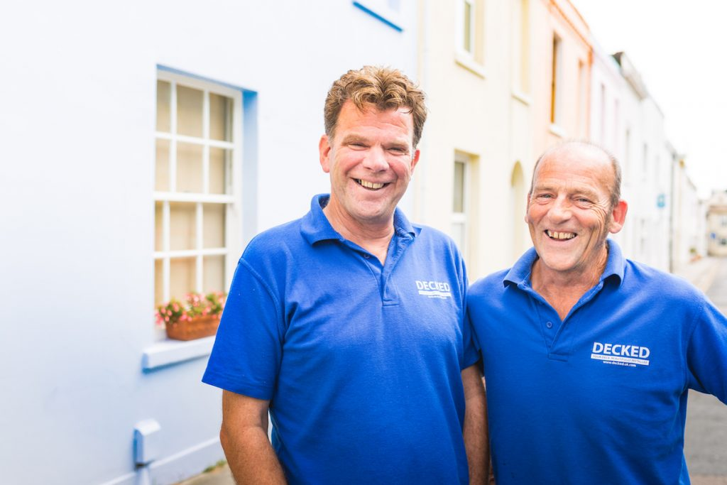 Bill Greer and Jon Power, the friends revolutionising your garden decking