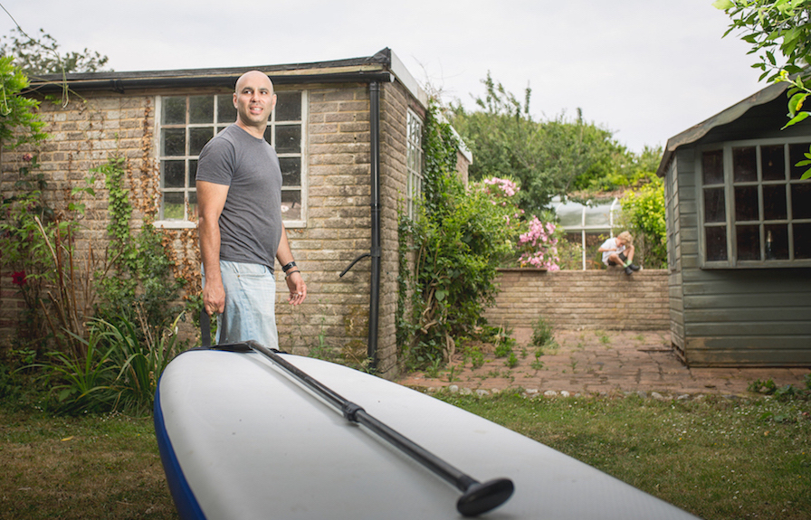 Andy Mindel, the paddle boarder and serial entrepreneur