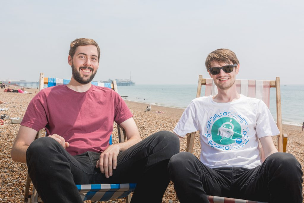 Christopher Weeks and Alastair Byrne, the startup founders looking out for your mental health