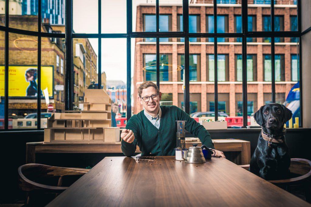 Ben Murtagh, the coffee pop-up innovator