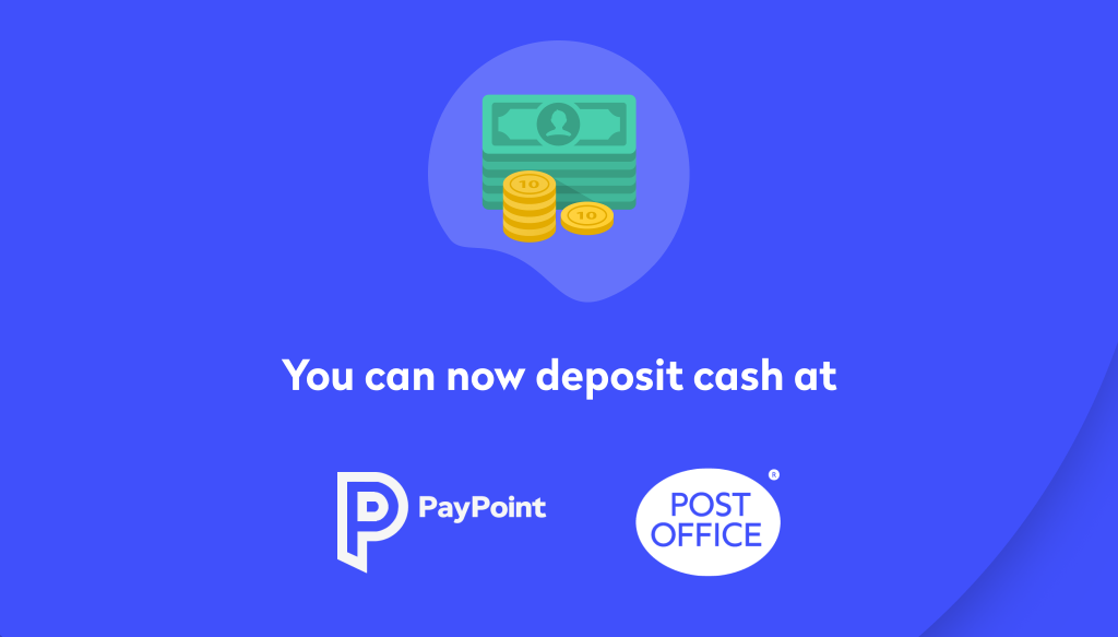 Cash deposits are here