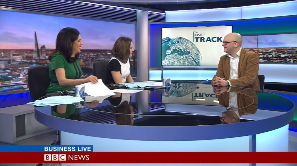 Tide on BBC Business Live