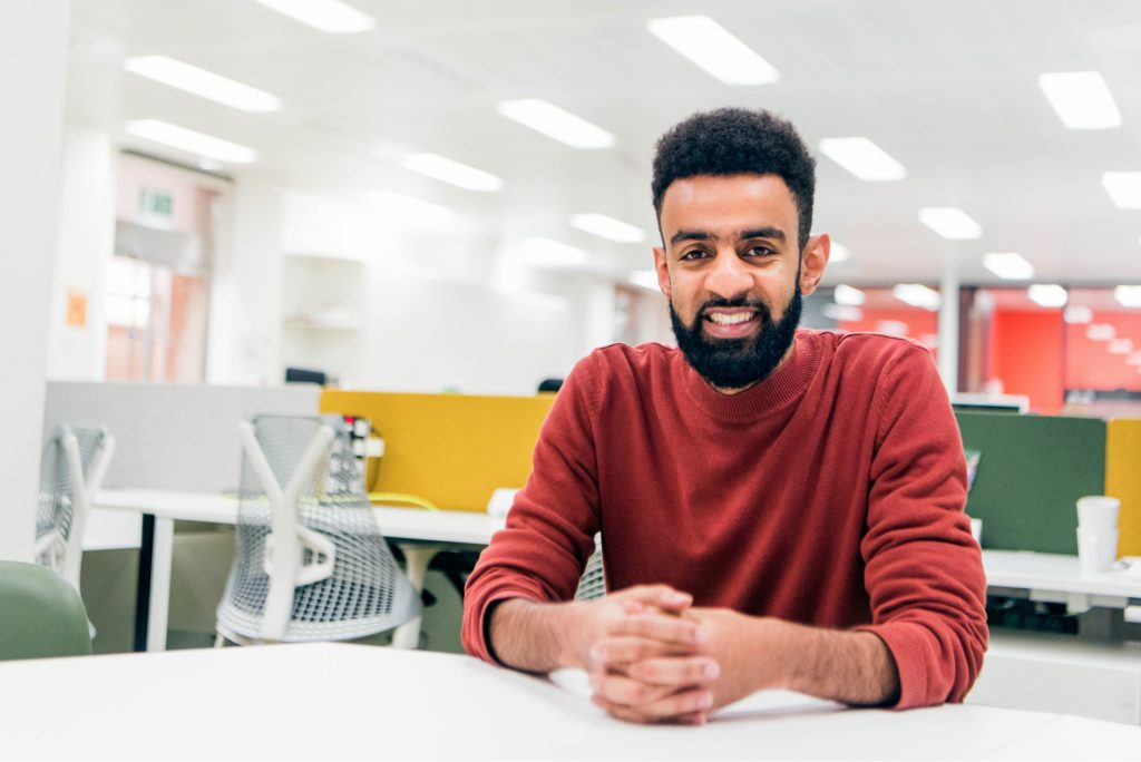 Ismail Jeilani - Founder of Scoodle - Tide Member