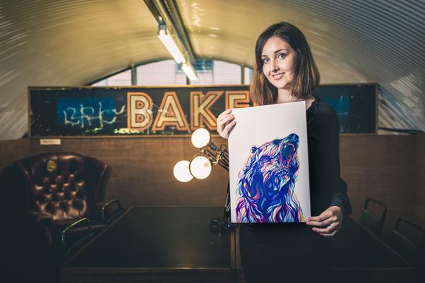 Tide Member and graphic designer Claudine O'Sullivan