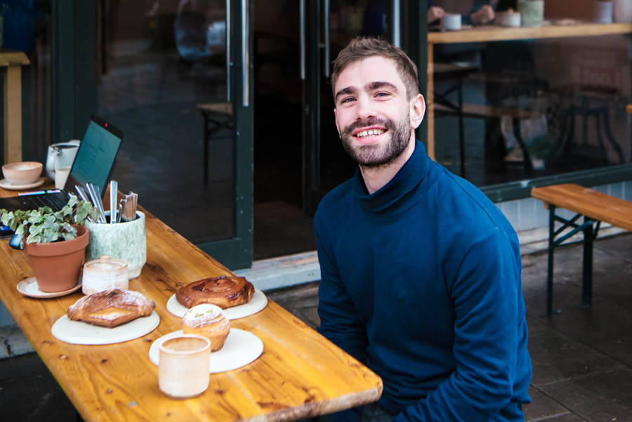 Ollie Gold, the croissant lover revolutionising London's pastry scene