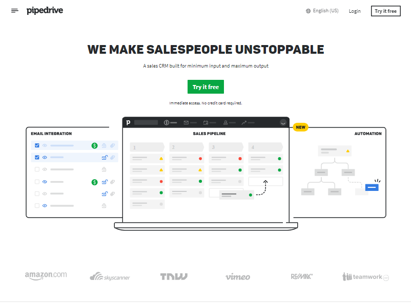 Small Business Software - Pipedrive