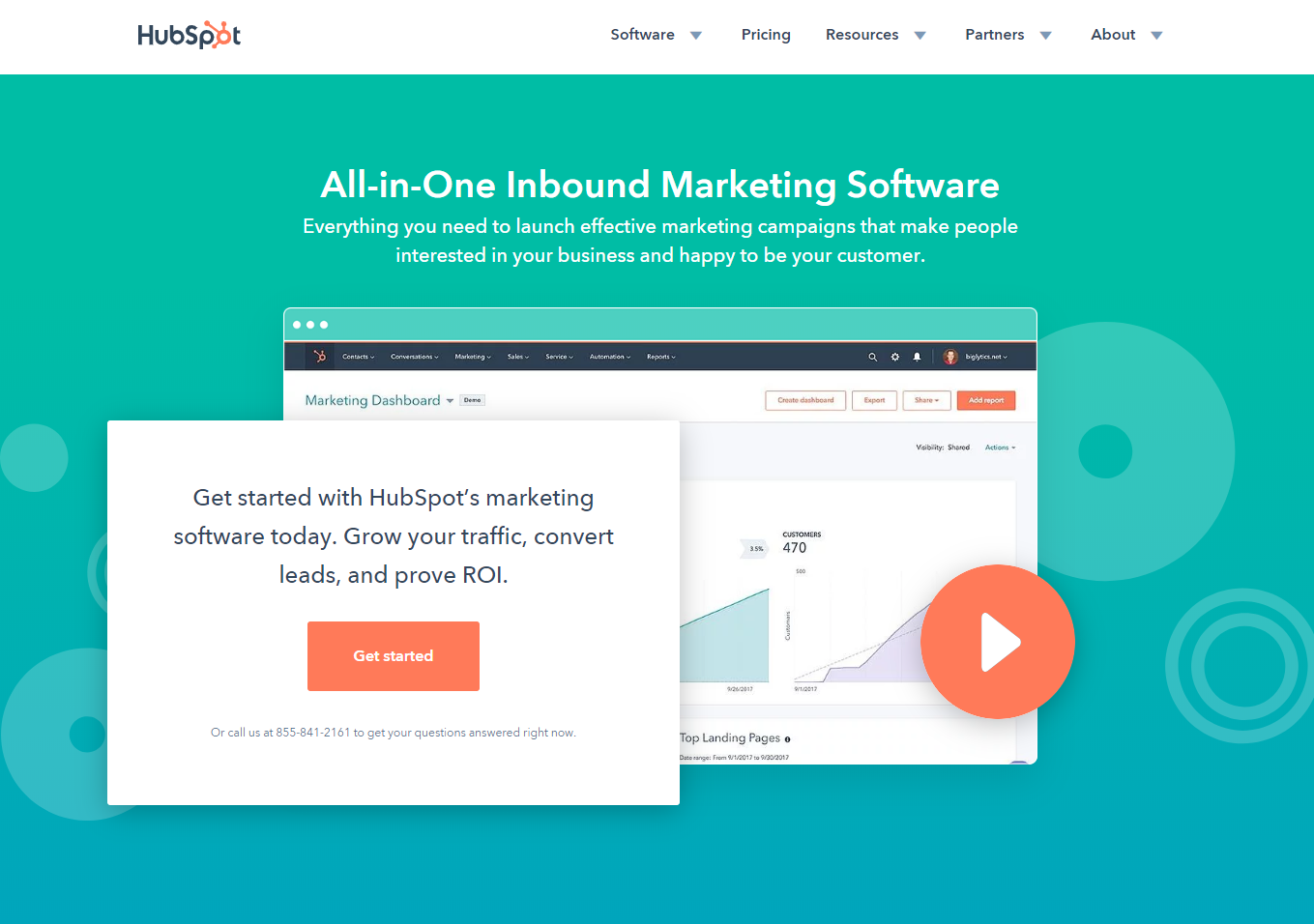 Small Business Software - HubSpot Marketing