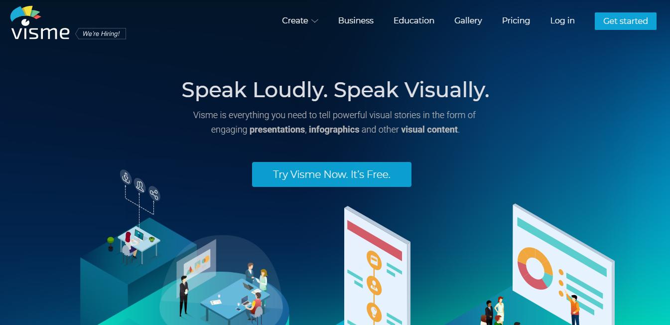 Small Business Software - Visme