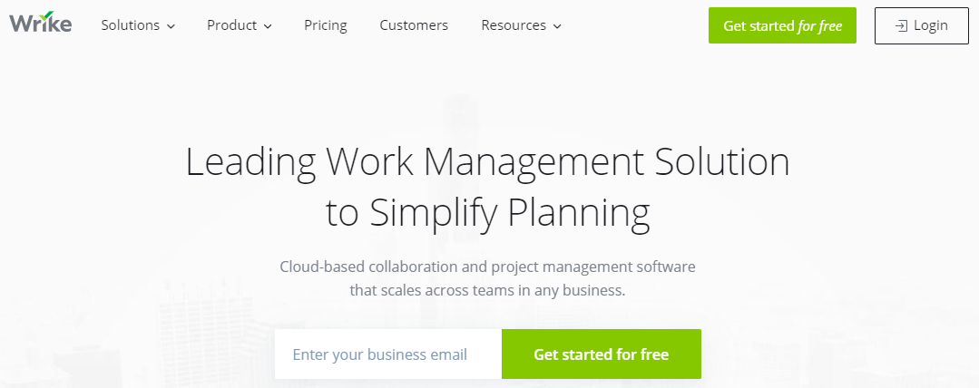 Small Business Software - Wrike