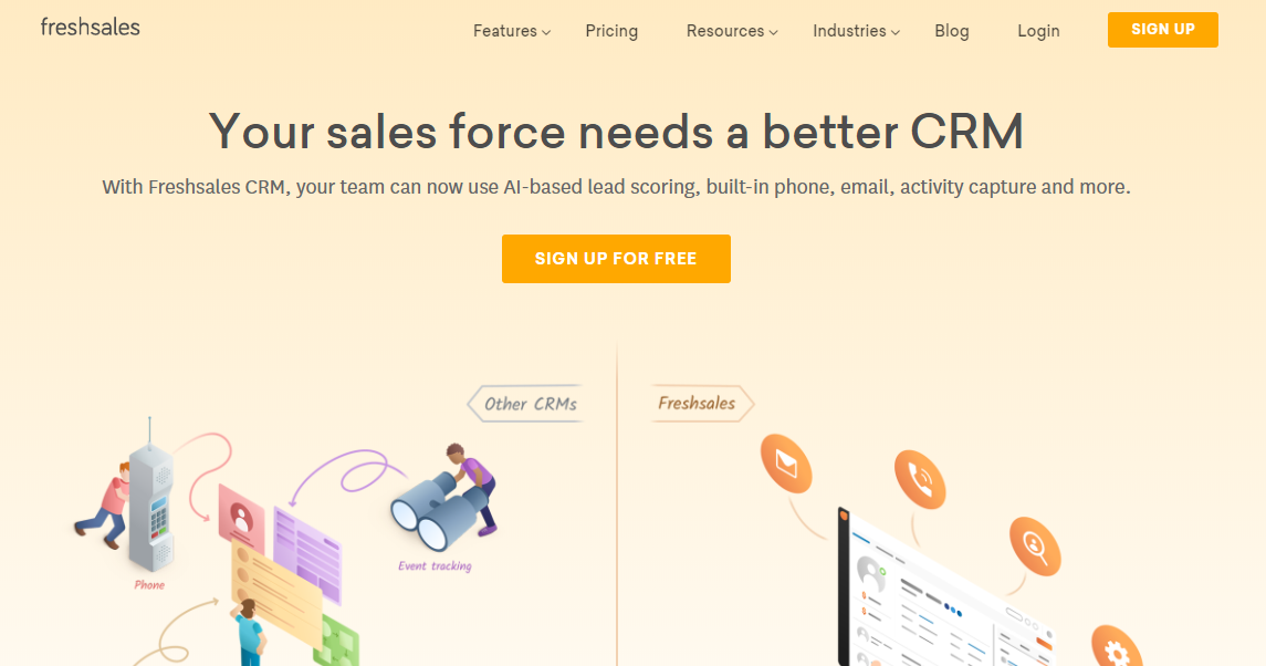 Small Business Software - Freshsales