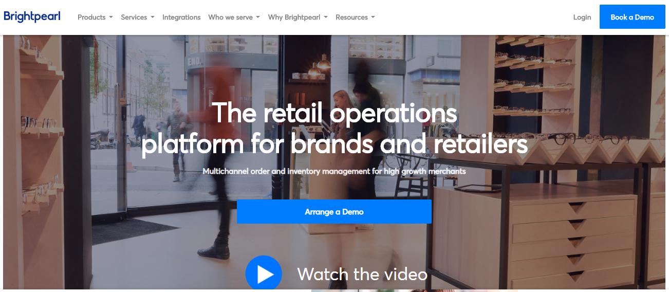 Small Business Software - Brightpearl