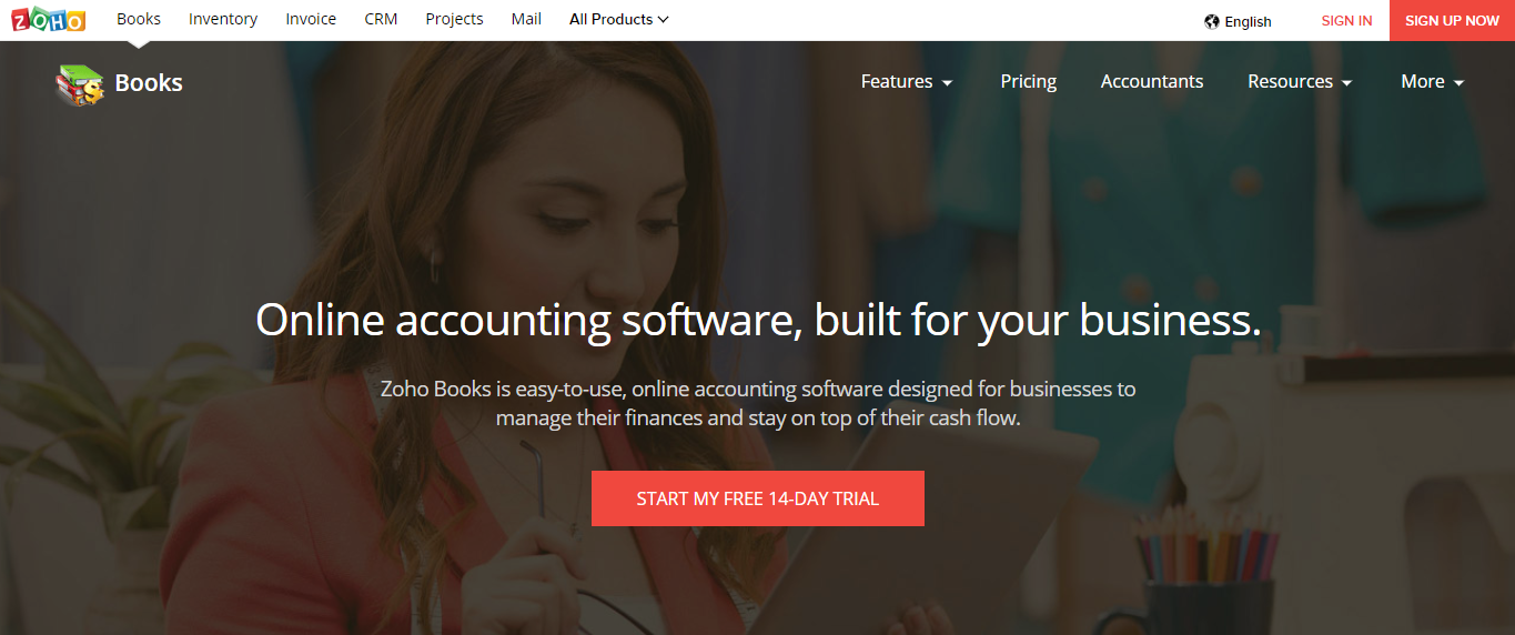 Small Business Software - Zoho Books