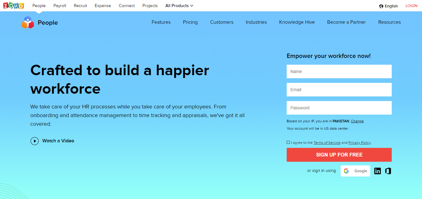 Small Business Software - Zoho People
