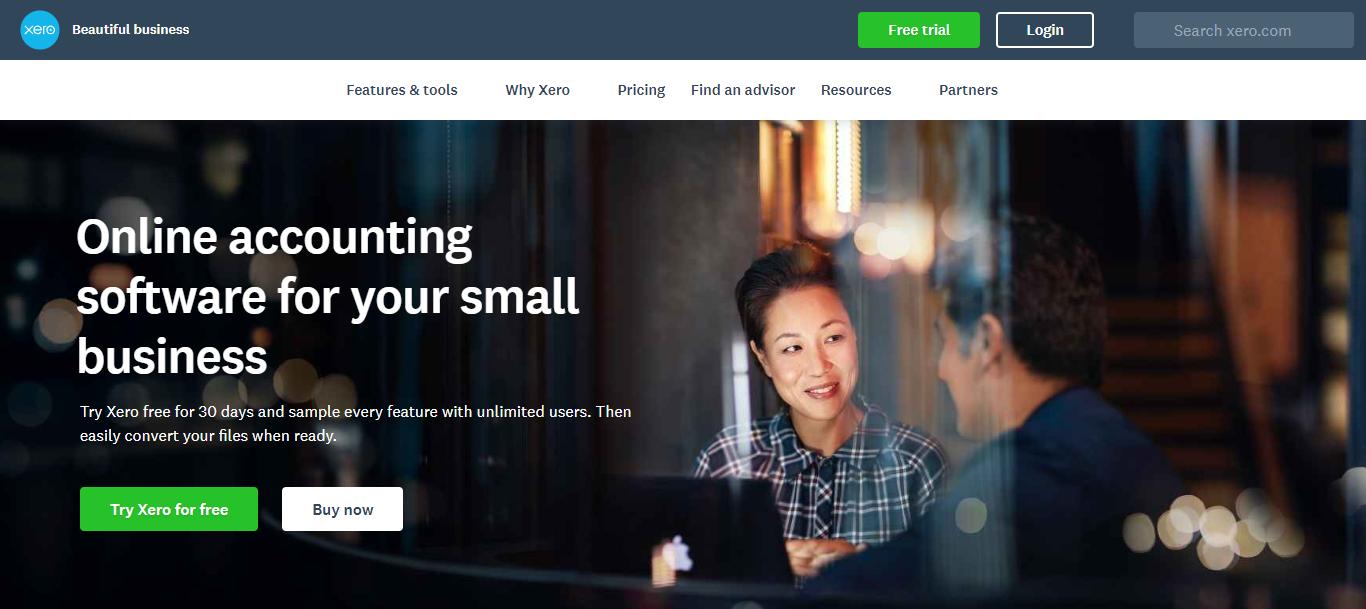 Small Business Software - Xero