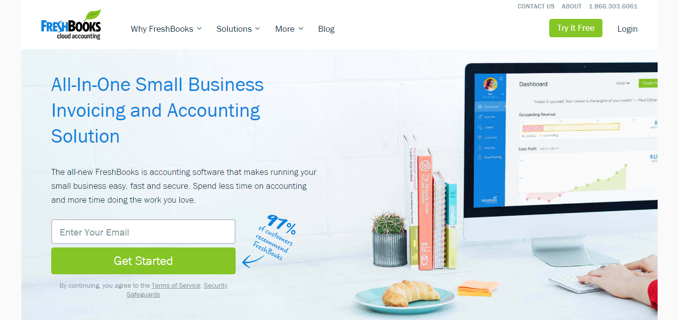 Small Business Software - FreshBooks