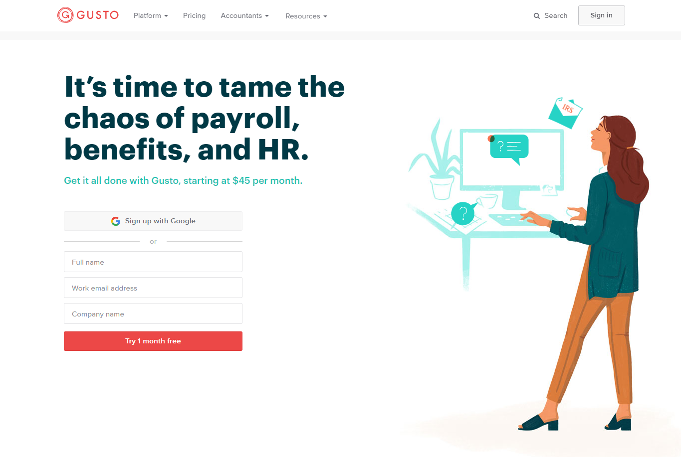 Small Business Software - Gusto