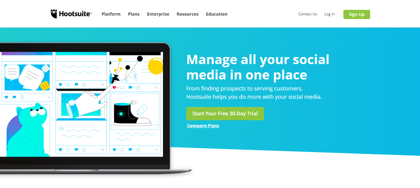 Small Business Software - Hootsuite