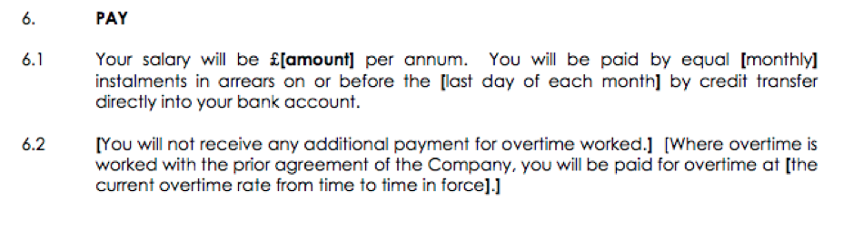 How to Employ Someone - Pay