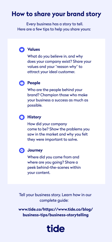 Business Storytelling - Sharing Your Brand