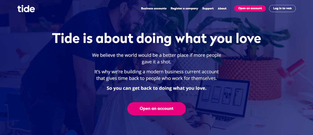 Business Storytelling - About Page