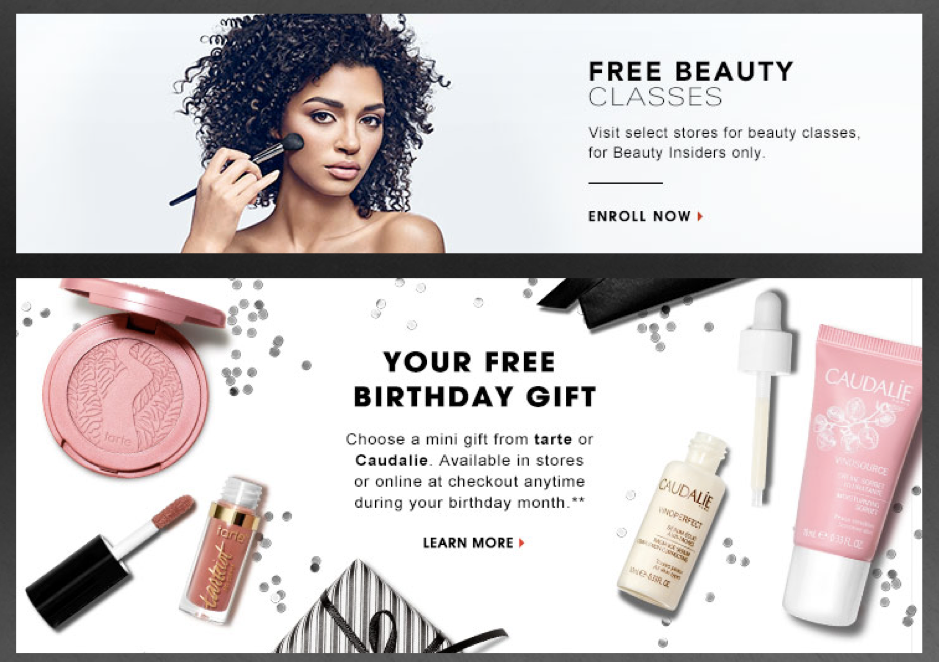 Relationship Marketing - Sephora Email Example