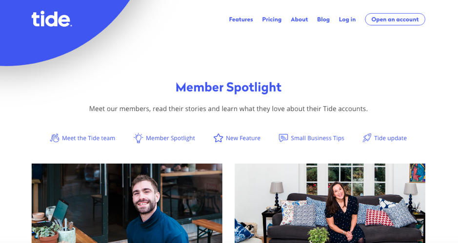 Relationship Marketing - Tide Member Stories From The Blog