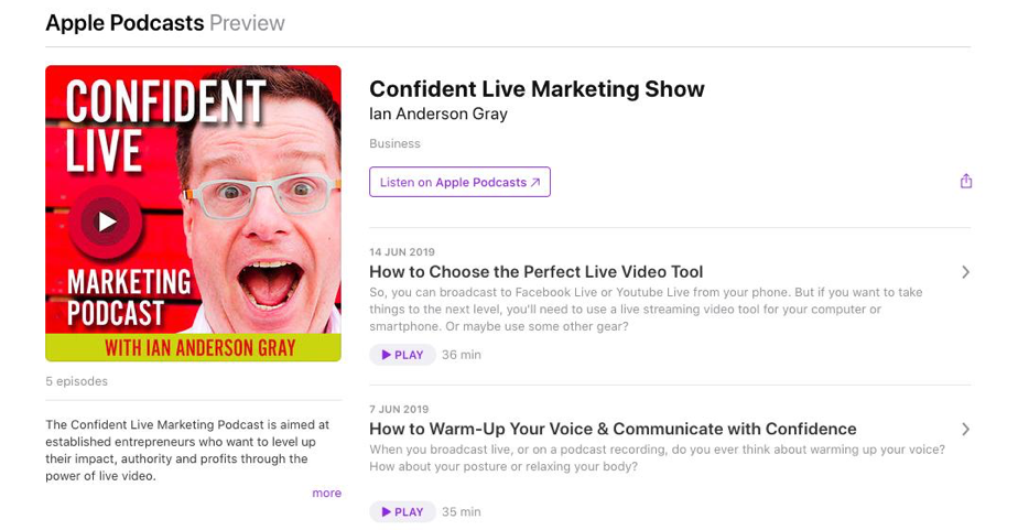 How to Get Clients - Podcasts