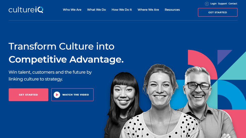 Business Culture - CultureIQ Website
