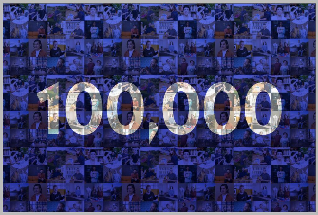 We've reached 100,000 members – thank you to every single one of you!