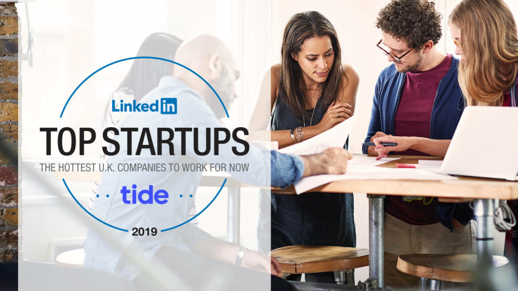 Tide LinkedIn top startup nomination