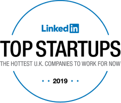 LinkedIn top startups UK 2019 logo