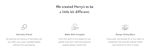 Competitive Analysis - Harry's Home Page preview