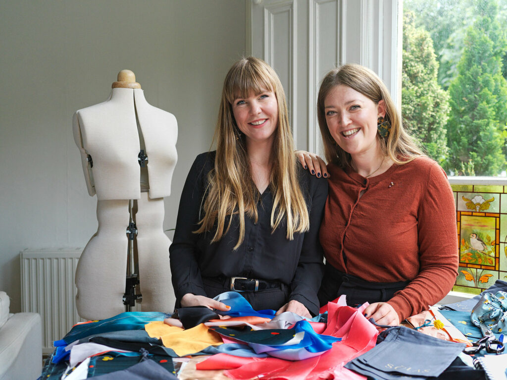 Meet Ruth Mitchell and Ciorstaidh Monk, the founders of Sòlas Sleepwear