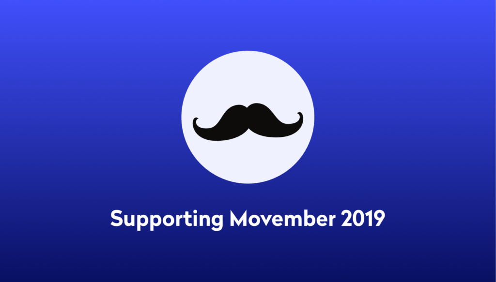 Supporting Movember at Tide