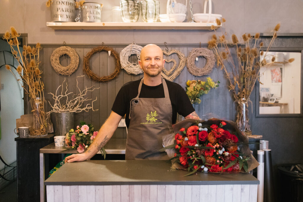 Jamie Christopher, the floral designer flourishing in Birmingham