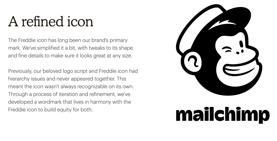 Mailchimp's new logo and the story behind it