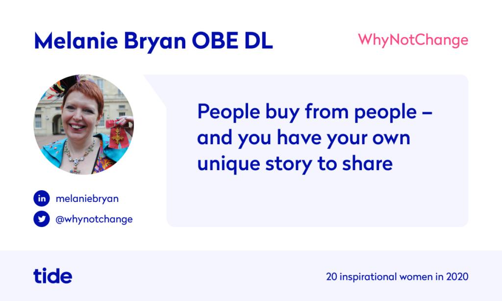 Melanie Bryan quote