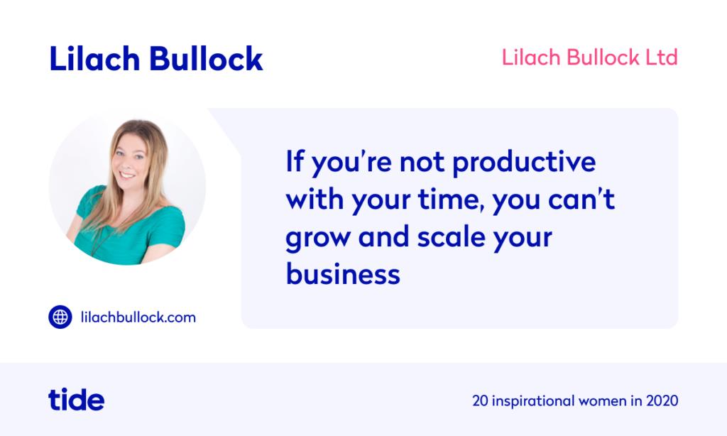 Lilach Bullock quote