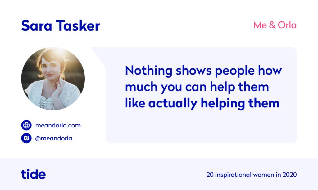 Sara Tasker quote