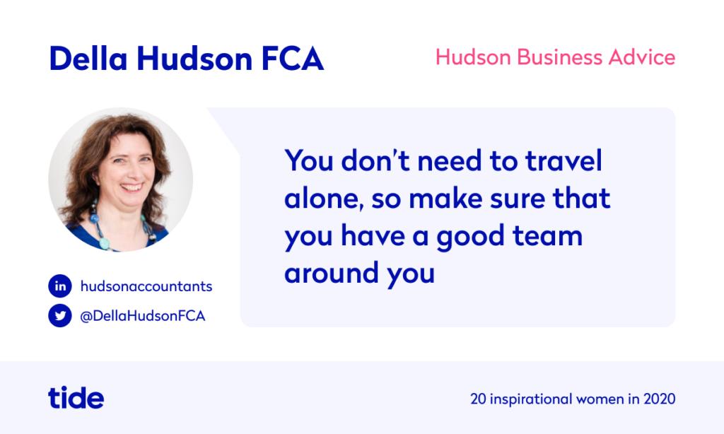 Della Hudson quote