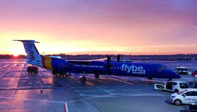 Flybe aircraft. Photo by @eric84s