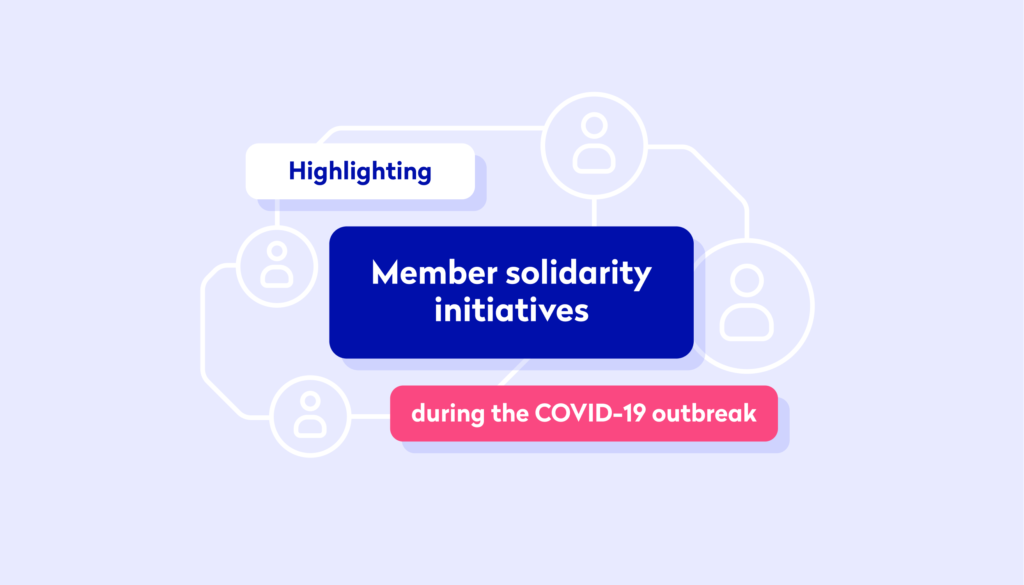 Tide members solidarity initiatives