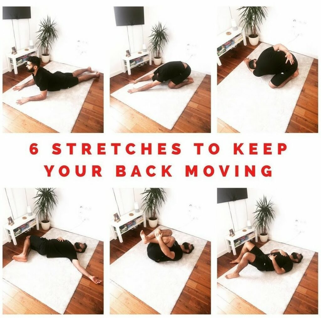 R&D Physio - 6 Stretches to keep your back moving