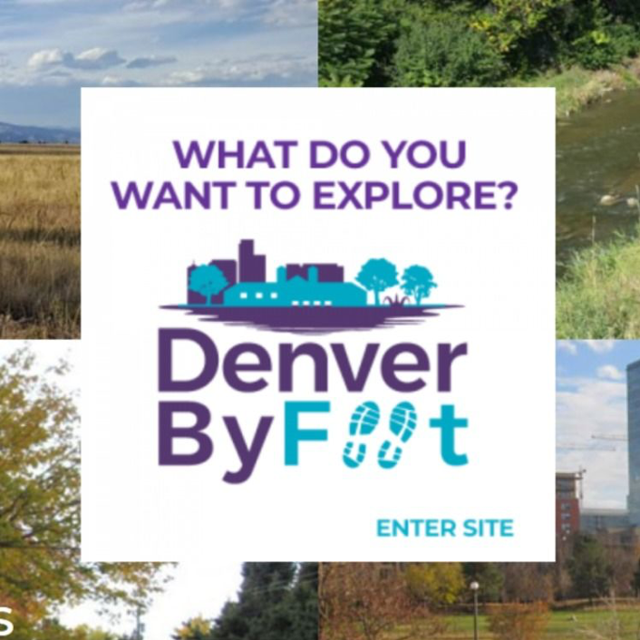 Denver By Foot travel website