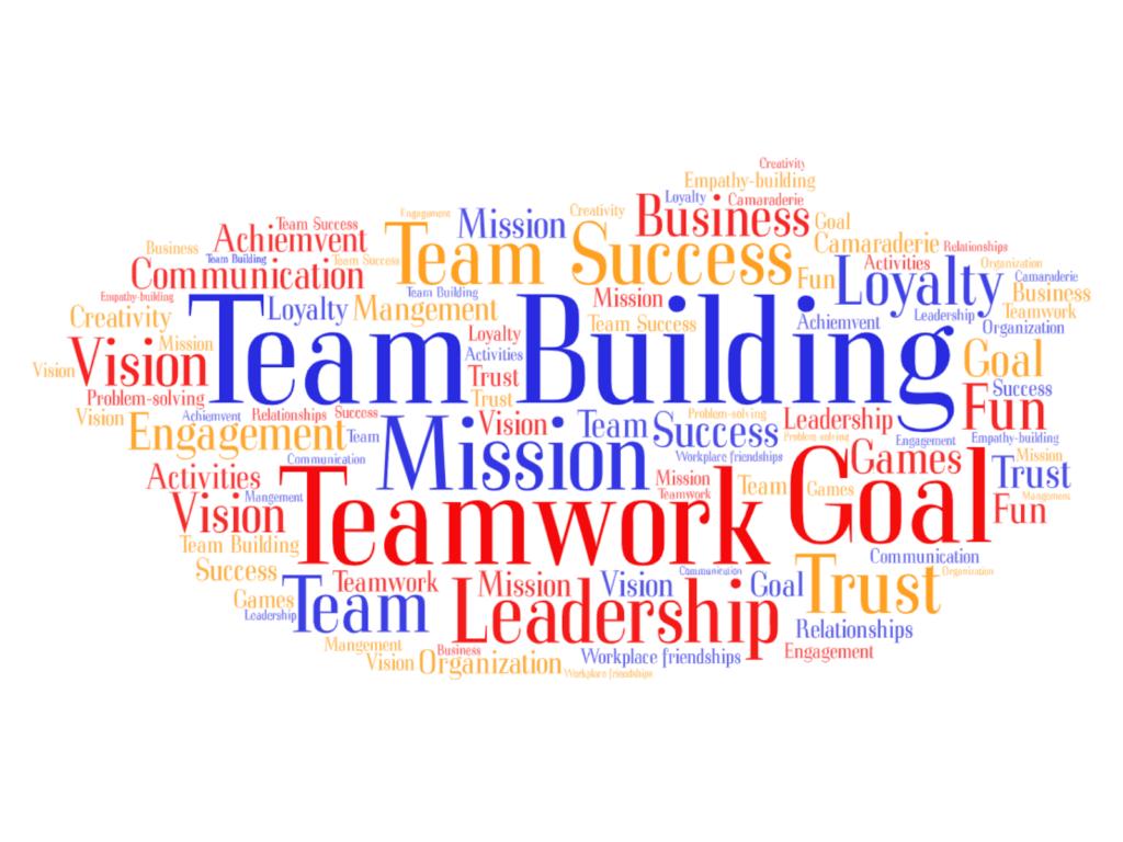 team building graphic