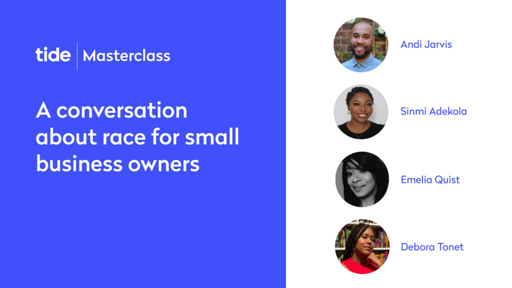 Tide Masterclass, A conversation about race