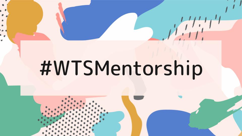 WTSMentorship banner