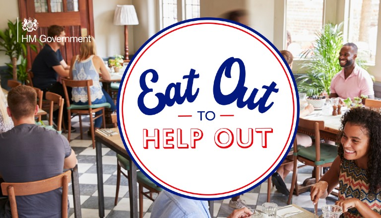 Eat Out to Help Out - official image HM Government