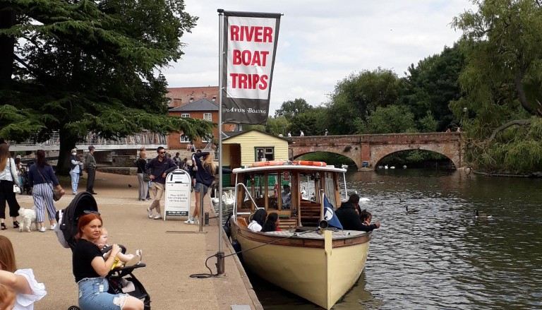 Boat trips in Stratford upon Avon