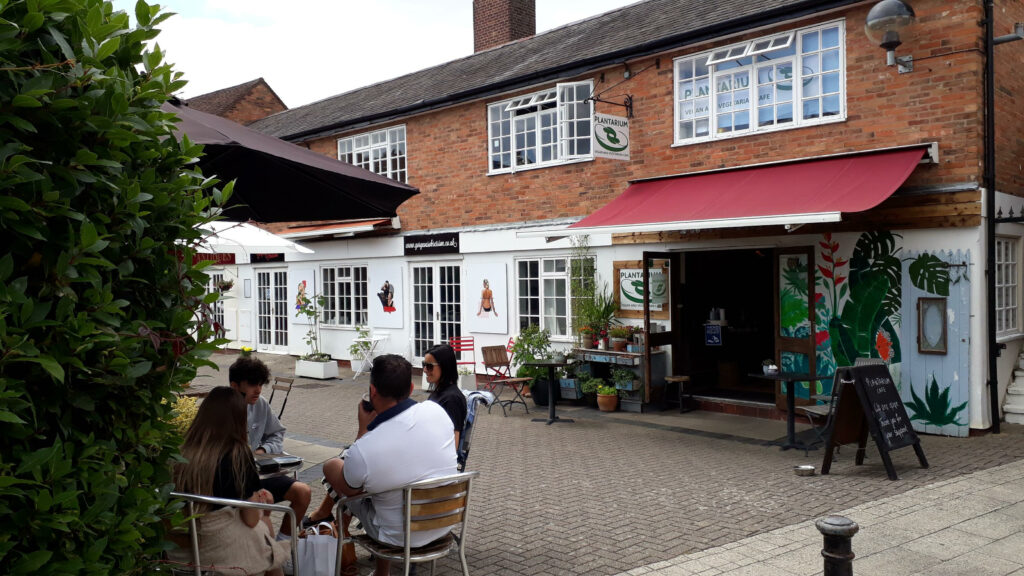 Plantarium, vegan / vegetarian cafe in Stratford upon Avon